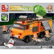 Sluban SOS RESCUE TEAM-268PCS ( M38-B0105 ) (Lego compatible)