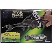 Star Wars Power of the Force Power Racing Speeder Bike with Scout Trooper Action Figure by Kenner