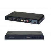All to HDMI UpScaler & Media Player - Upscale to 720p / 1080p (Composite,AV,VGA to HDMI)