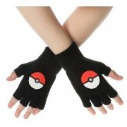 Bioworld Pokemon - Poke Ball Fingerless Gloves