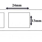 Labels Dymo Compatible Labels 25 x 13 mm(11353) (10 st)