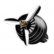 Odorizant Auto Tip Ventilator pentru Grila cu Lumini Negru