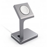 Satechi Aluminum Watch Stand (Apple Watch) - Silver
