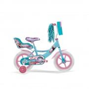 Veloci Bicicleta Infatil Veloci Frozen II My Destiny R12 Azul