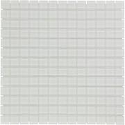 Mozaiektegel Montreal White Clear Glass Glass 318x318
