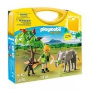 Playmobil 5628 African Safari Carrying Case Playset