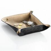 Cerruti 1881 Travel Tray, Taschenentleerer aus Leder