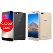 Telefon mobil AllCall Madrid 3G Ecran Curbat 5.5 inch Android 7 QuadCore 1GB RAM 8GB ROM OTG 8 MP Dual Sim