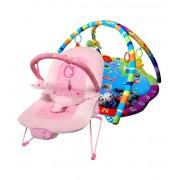 Ladida Babygym och Babysitter Pink Ocean Star Paketerbjudande
