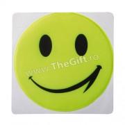 Sticker reflectorizant Smiley Face