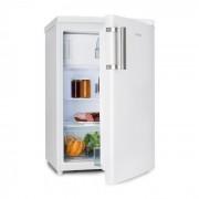 Klarstein COOLZONE 120, frigider combinat cu congelator, A +++, 118 litri, albă (HEA9-CoolZone120EcoW)