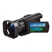 Sony Handycam FDR-AX100 - Camcorder - 4K - 20.9 MP - 12x optische zoom - Carl Zeiss - flash-kaart
