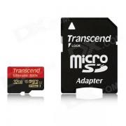 Transcend tarjetas de memoria flash UHS-I 600x microsdhc clase 10 de 32GB TS32GUSDHC10U1
