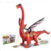 Electric Dinosaur Toy Lay Eggs Projection Kid Gift Funny Novelties Toys