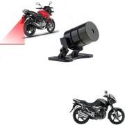 Auto Addict Bike Styling Led Laser Safety Warning Lights Fog Lamp Brake Lamp Running Tail Light-12V For Suzuki gs150r black