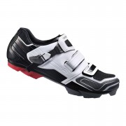 Shimano XC51 SPD Cycling Shoes White/Black - EUR 40 - White