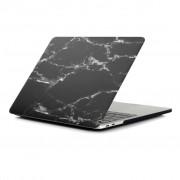 Shop4 - MacBook 15-inch Pro (2017) Hoes - Hardshell Cover Marmer Zwart