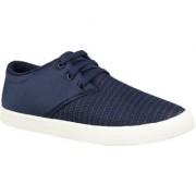 Essar Lites Blue Canvas Casual Shoes For Men