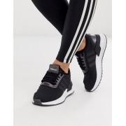 adidas Originals U Path Run trainers in black - female - Black - Size: 6