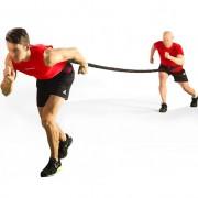 Тренировъчен ластик с два колана за огледален тренинг