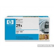 HP LaserJet 5000/ 5100 Ultraprecise Maximum Capacity Print Cartridge, black (up to 10,000 pages) (C4129X)