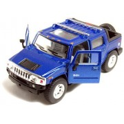 "12 pcs in Box: 5"" 2005 Hummer H2 SUT 1:40 Scale (Black/Blue/Red/Yellow)"