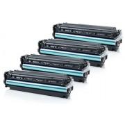 HP CF380X - CF383A промо пакет (BK, C, M, Y) 4 бр.