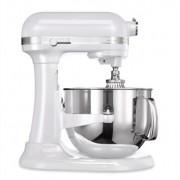 Robot pâtissier multifonction avec crémaillière Artisan blanc givré 500 W 5KSM7580XEFP Kitchenaid