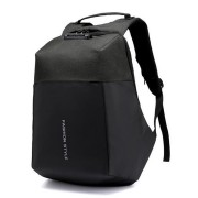 27L Outdoor Anti-theft USB Backpack Password Code Lock Laptop Bag Travel School Waterproof Rucksack