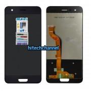 touch screen display lcd nero per huawei honor 9 stf-l09 +colla b7000 kit 9 in 1 e biadesivo