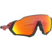 Oakley FLIGHT JACKET Sports Sunglass(Red)