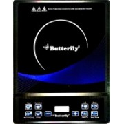 Butterfly power hob ivory Induction Cooktop(Black, Push Button)