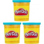 (3 Pack) Bright Blue (23859) Hasbro Play-Doh 5 oz. (15 oz. total)