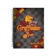 Caiet Harry Potter - Gryffindor A4 Quidditch