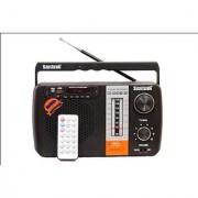 Santosh Five Band Portable FM Radio With USB AUX Support With Remote Control (Sainik 1)
