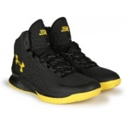 Under Armour UA CURRY 1.0 CHAMPION EDITION Basketball Shoes For Men(Black)