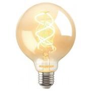 Bec Led Sylvania, ToLedo Vintage G95, E27, SL, 5W, lumina calda(2000K), 250 lumeni, 230V, durata de viata 15000 ore, clasa energetica A