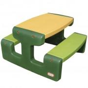 Little Tikes Table large de pique-nique Vert