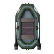 Čln Kolibri K-240 zelený, lamelová podlaha