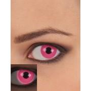 Vegaoo.se Rosa UV kontaktlinser vuxen