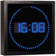 Lunartec Horloge digitale murale avec 60 LED - Bleu