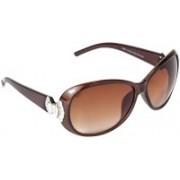 VESPL Cat-eye Sunglasses(Brown)