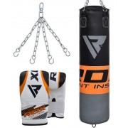 RDX vreća za boksanje sa rukavicama