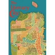 Artifact Puzzles San Francisco Literary Map Wooden Jigsaw Puzzle