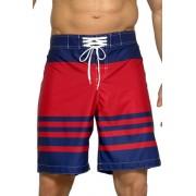10 James férfi bermuda fürdőnadrág csíkokkal XL