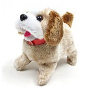 YIJUN Soft Toy Fantastic Puppy Battery Operated Back Flip Jumping Dog Jump Run Toy Kid