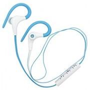Sport Headphones Geckone Wireless Bluetooth Headphone Sport Running Stereo with Noise Cancelling Earphones Earbuds -Blu