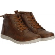 Kraasa Ace 850 Boots, Party Wear(Brown)