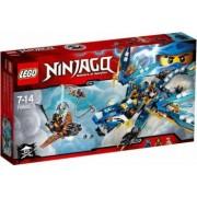 Set de constructie Lego Jays Elemental Dragon