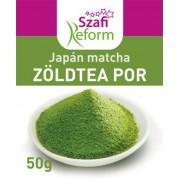 Szafi Reform japán matcha zöldteapor 50g